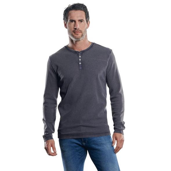 Lässiges Henley Shirt