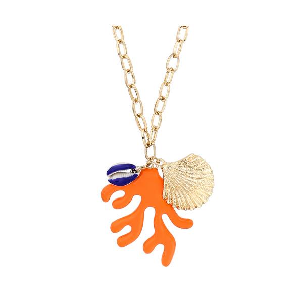 Kette - Orange Coral
