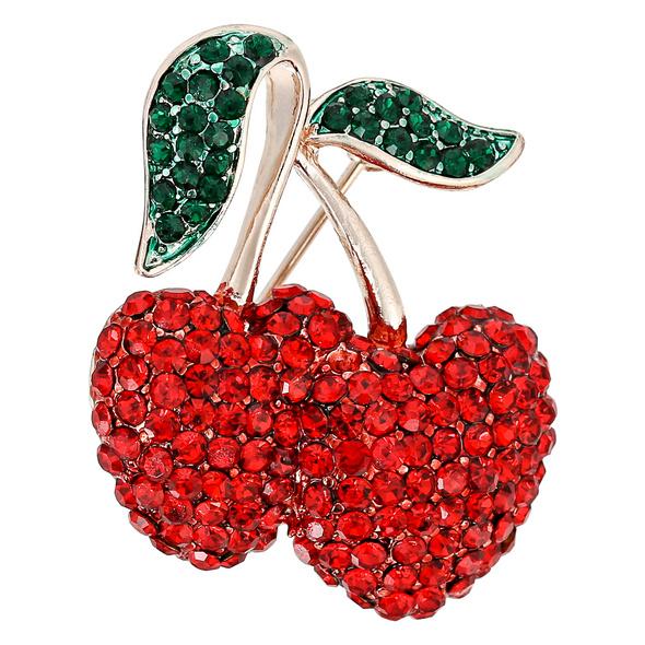Brosche - Sweet Cherry