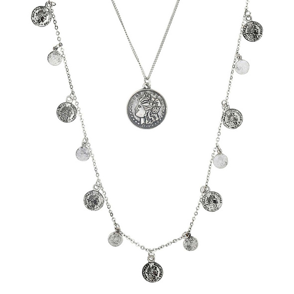Kette - Silver Coin
