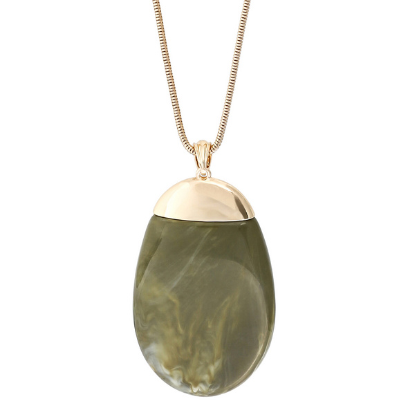 Kette - Green Marble