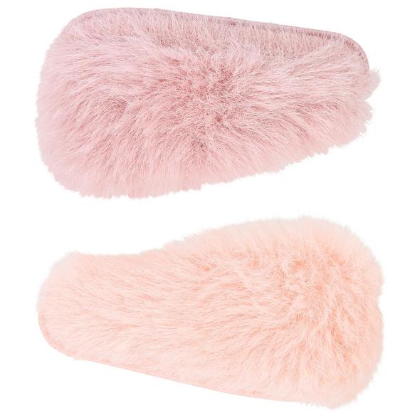 Kinder Haarclip-Set - Fake Fur