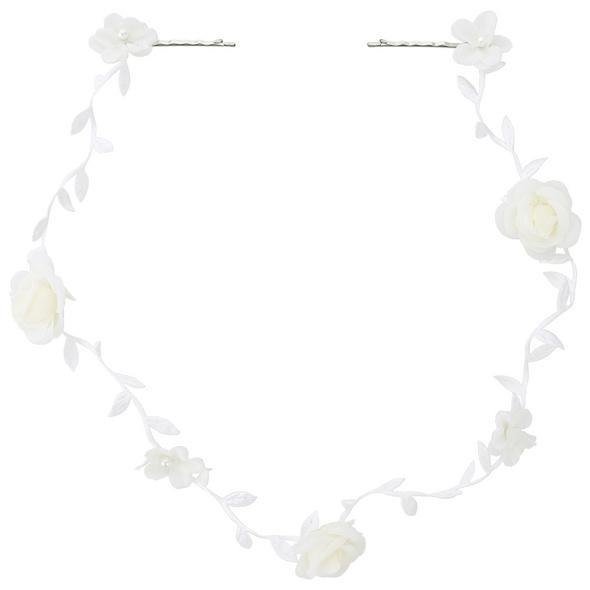 Haarspange - Playful White