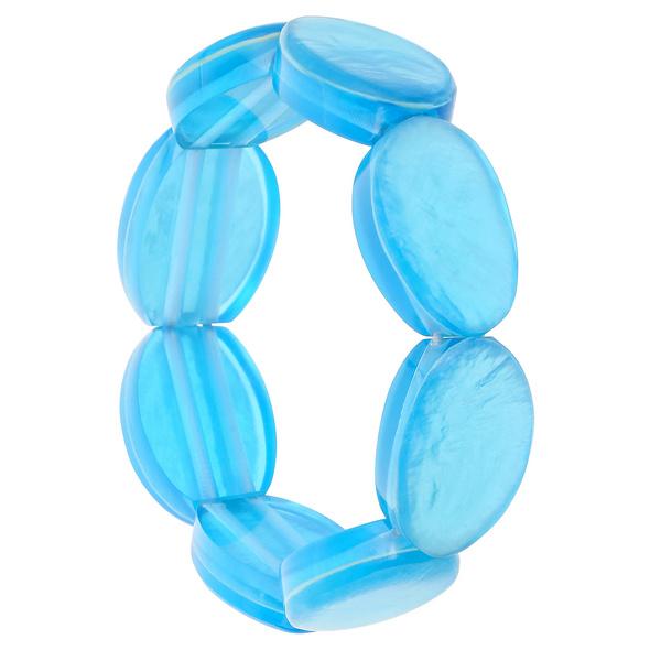 Armband - Blue Seashell