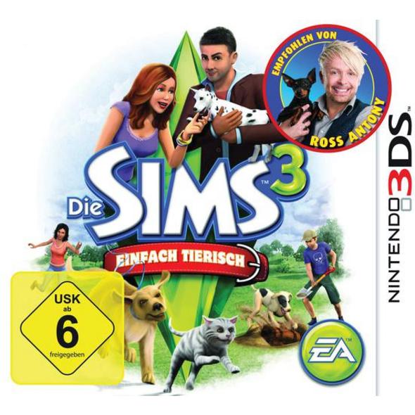3DS Die Sims 3 Einfach tierisch