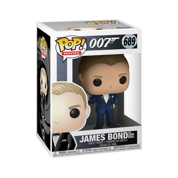 James Bond - POP!- Vinyl Figur Daniel Craig