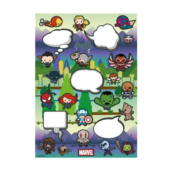 Marvel Avengers - Magnetset Kawaii