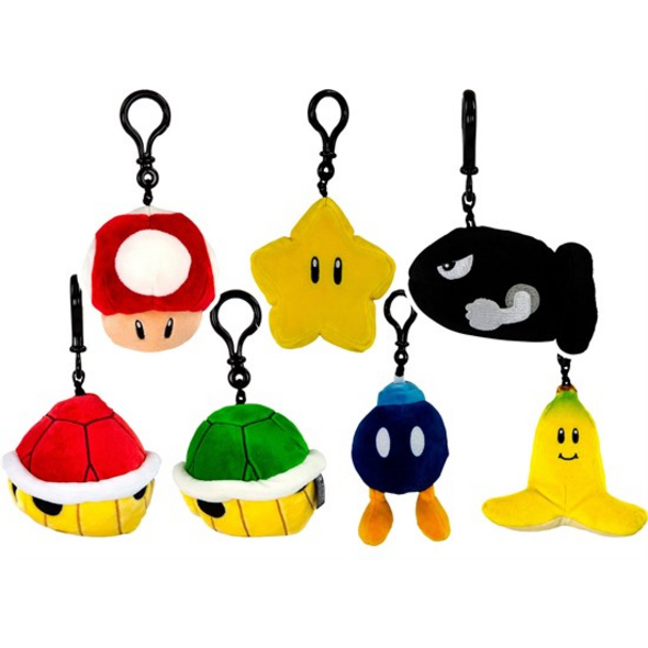 Mario Kart - Plüschanhänger (zufällige Auswahl)