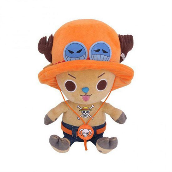 One Piece - Plüschfigur Chopper x Ace (klein)