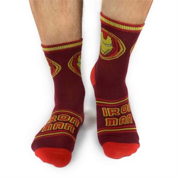 Marvel Avengers - Socken Iron Man (Größe 43-46)