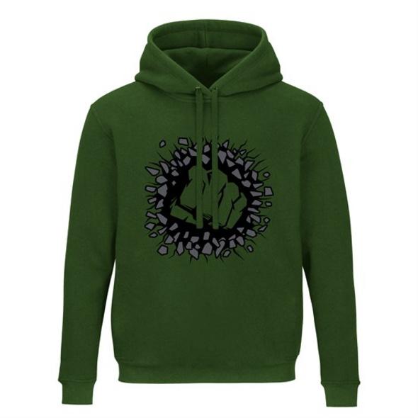 Marvel - Hoodie Hulk (Größe L)