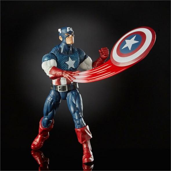 Marvel 80ter Jahrestag - Actionfigur Captain America