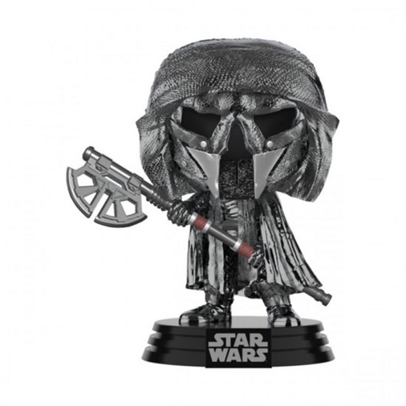 Star Wars - POP!-Vinyl Figur Ritter von Ren Axt (Chrome)