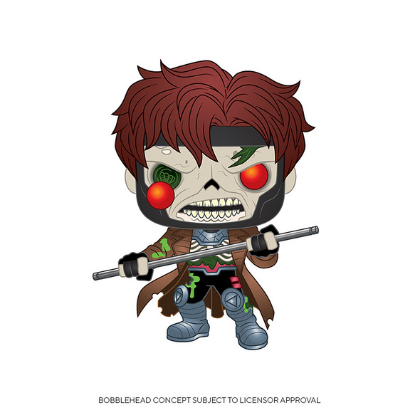 Marvel - POP!- Vinyl Figur Zombie Gambit
