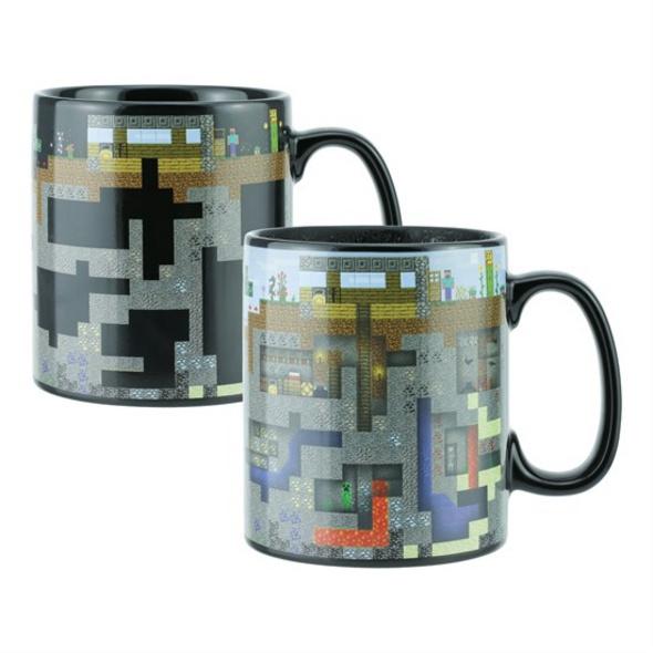 Minecraft - Tasse Thermoeffekt