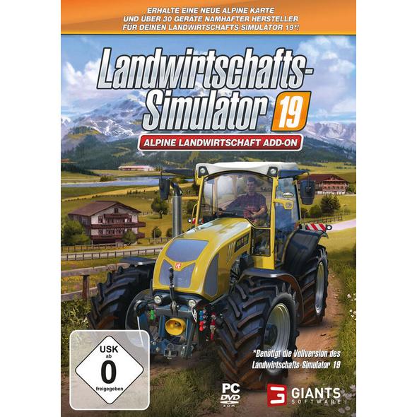 Landwirtschafts-Simulator 19 Alpine Landwirtschaft Add-On