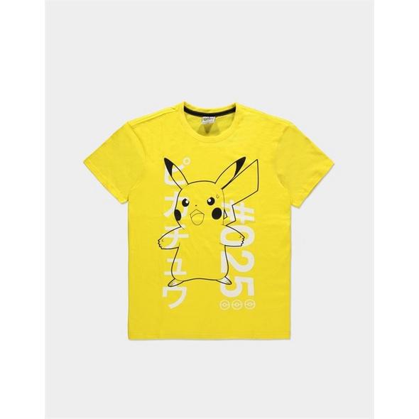 Pokémon - T-Shirt Donnerschock Pikachu Größe - L