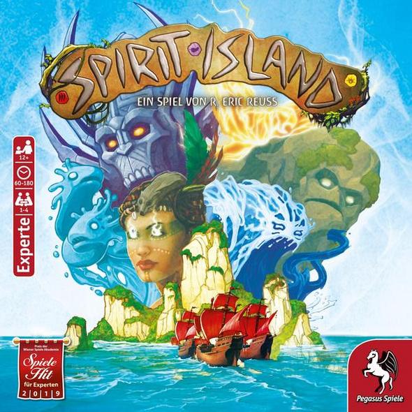 Pegasus 51896G - Spirit Island, Expertenspiel, deutsche Version