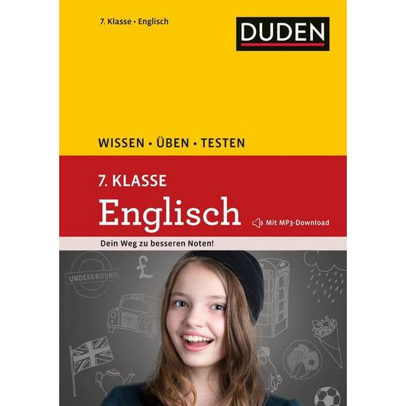 Wissen – Üben – Testen: Englisch 7. Klasse