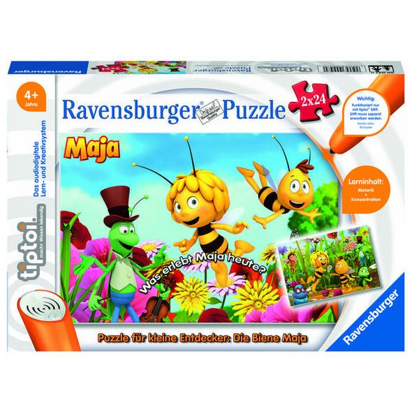 Ravensburger 00047 - tiptoi® Puzzle für kleine Entdecker: Biene Maja,