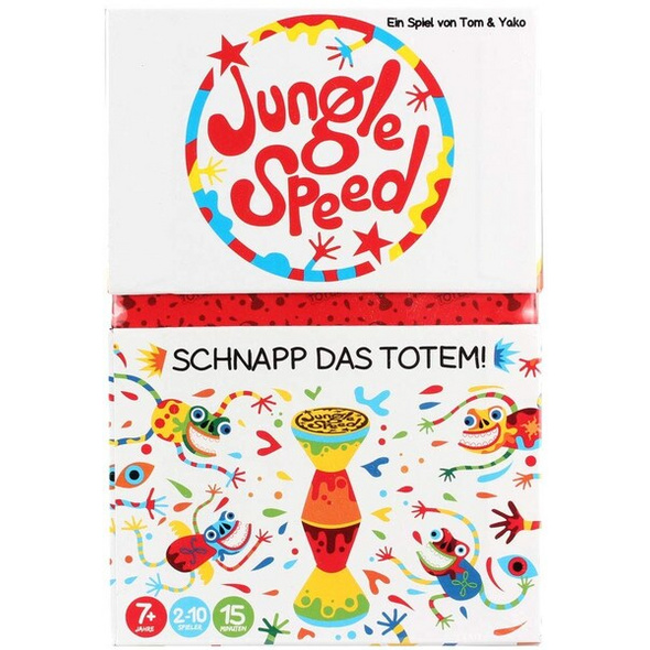Asmodee ASMD0016 - Jungle Speed, Reaktionsspiel