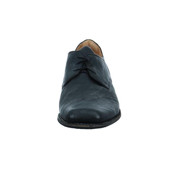 Think! Guru Business-Schnürer aus Glattleder in schwarz