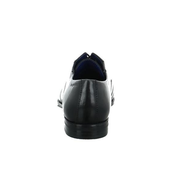 Bugatti Herren 311-44606-4000-1000 Schwarzer Glattleder Schnürschuh