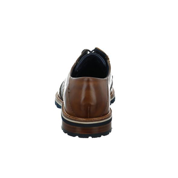 Bugatti Herren 311797051111 Brauner Glattleder Schnürschuh