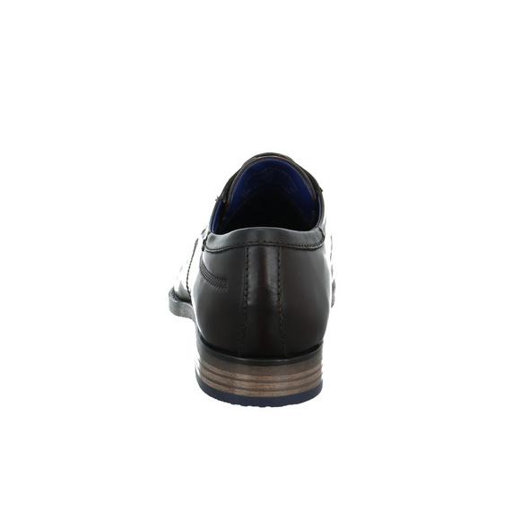 Bugatti Herren 312-97201-2100 Brauner Glattleder Schnürschuh
