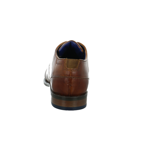 Bugatti Herren 312-97301-1100-6300 Brauner Glattleder Schnürschuh