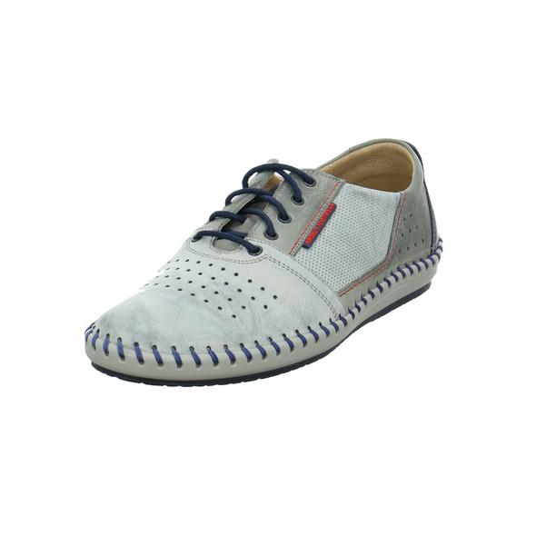 Krisbut Herren 5200-2 Graue Glattleder Sneaker
