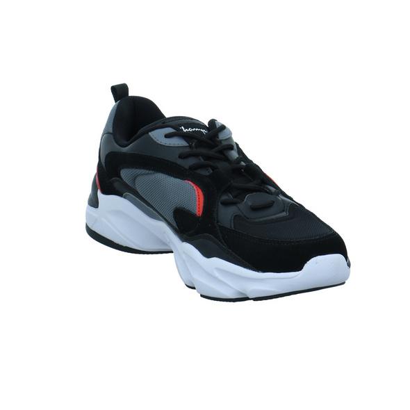 Champion Herren Tampa Low Schwarzer Leder/Synthetik/Textil Sneaker