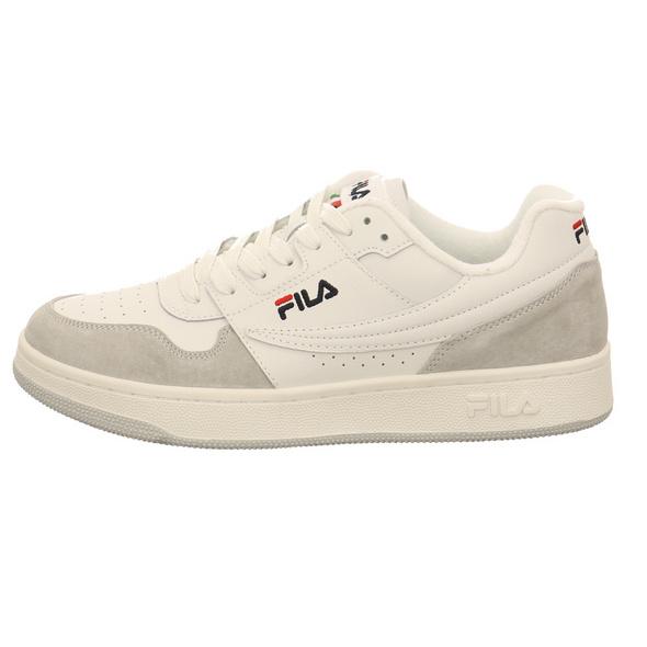 Fila Herren Arcade Low Weißer Leder Sneaker