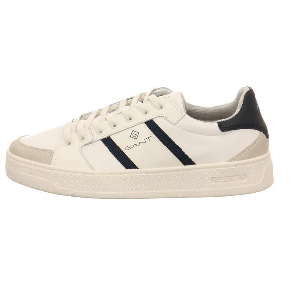 Gant Herren Le Brook Weißer Leder7Textil Sneaker