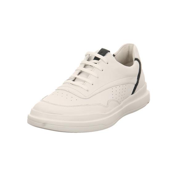Lloyd Herren Arrigo Weißer Glattleder Sneaker