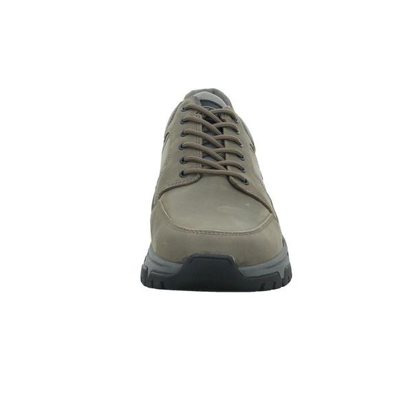 Camel active Herren Zodiac Grauer Leder/Textil Sneaker