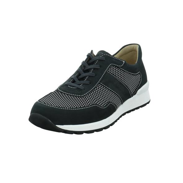 Finn Comfort Herren Prezzo Grauer Leder/Textil Sneaker