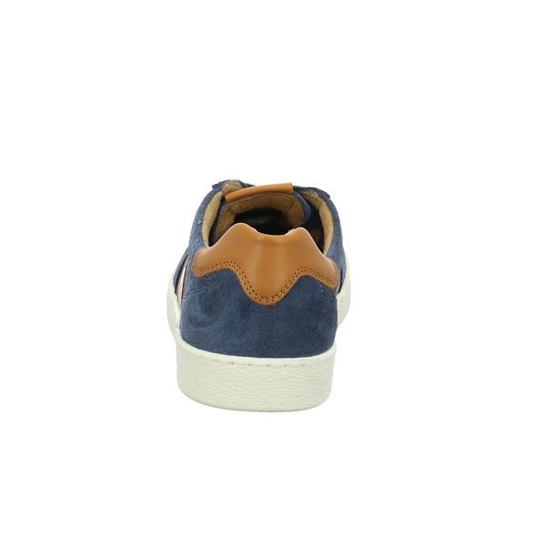 Camel Active Herren Tonic Blauer Glattleder/Veloursleder Sneaker