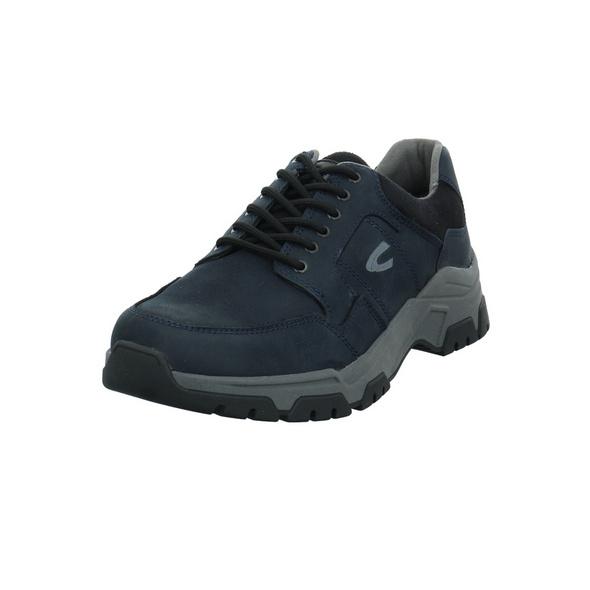 Camel active Herren Zodiac Blauer Leder/Textil Sneaker