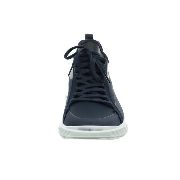 Ecco Herren ST. 1 Lite M Blauer Textil Sneaker
