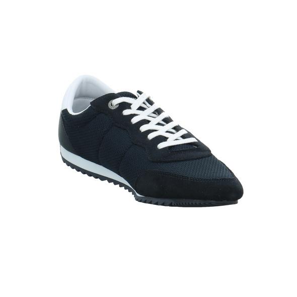 Tommy Hilfiger Herren Essential Mesh Runner Blauer Veloursleder Sneaker