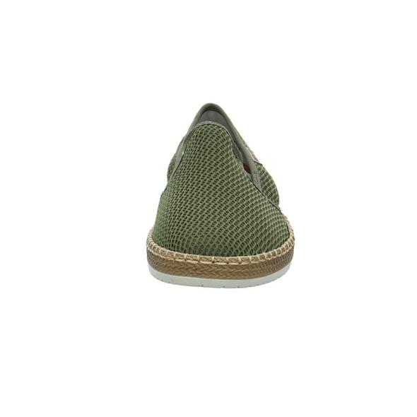 Rieker Herren B5276-54 Grüner Synthetik/Textil Slipper