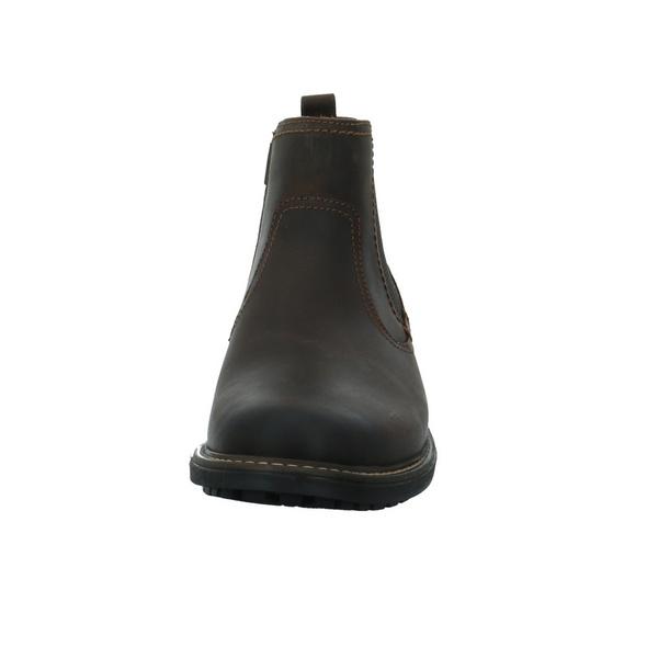 Output by Girza Herren 670078 Braune Glattleder Boots