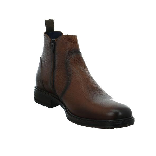Output by Girza Herren 850060 Braune Glattleder Boots