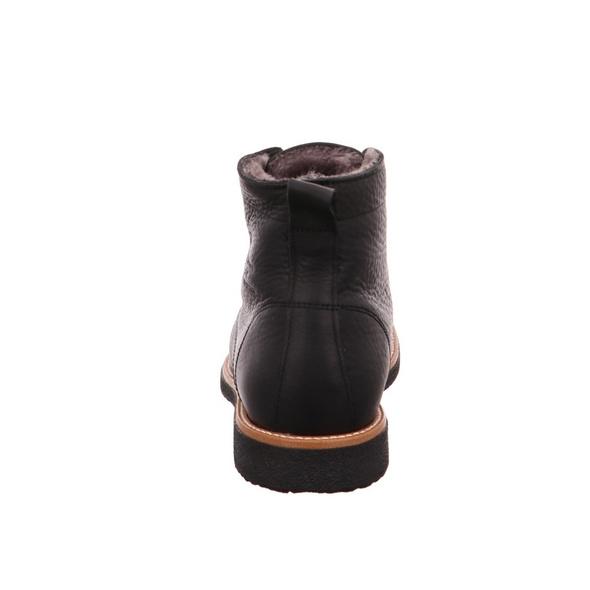 Panama Jack Glasgow Igloo Herren Winterboots aus Glattleder in schwarz