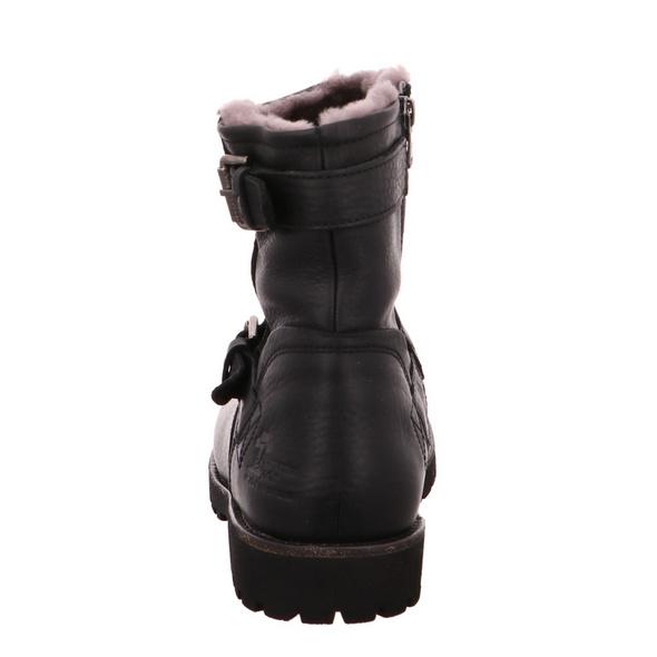 Panama Jack Faust Igloo C18 Herren Winterstiefel aus Glattleder in schwarz