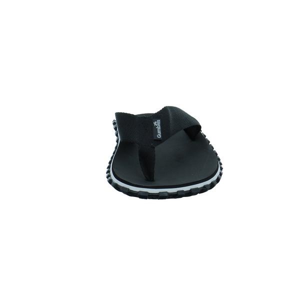 Gumbies Herren Duckbill Schwarze Textil Pantolette