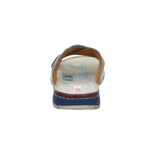 S.Oliver Herren 17201-319 Muticolorfarbene Leder/Textil Pantolette