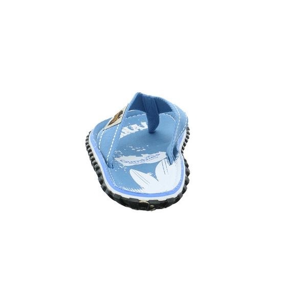 Gumbies Herren Original Blaue Textil Pantolette