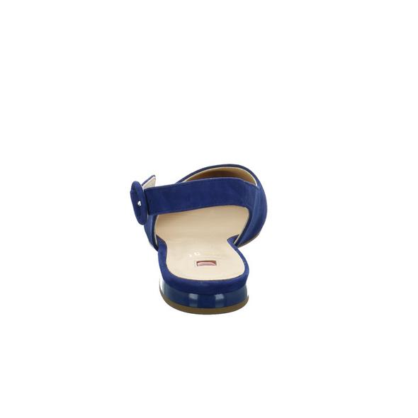 Högl Damen 9-100102-3100 Blauer Veloursleder Sling